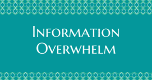 Information Overwhelm - Now Healing with Elma Mayer